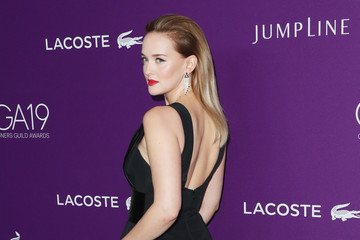 Jess Weixler 19th CDGA (Costume Designers Guild Awards) - Arrivals and Red Carpet