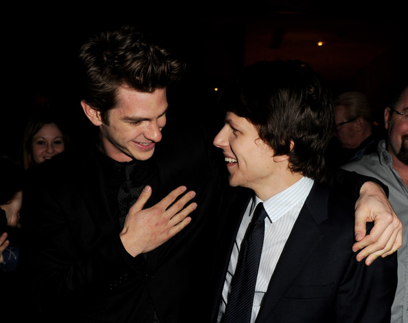 Is jesse eisenberg dating andrew garfield