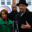 Angela Walker Jesse Jackson Leads Rally Against Home Foreclosures