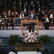 Jesse Jackson Soul Music Icon Aretha Franklin Honored During Her Funeral By Musicians And Dignitaries