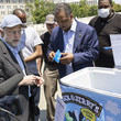 Jesse Jackson Ben & Jerry's Hands Out Ice Cream, Calling Attention To Need For Police Reform