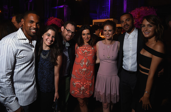 'Entertainment Weekly' and 'People' Celebrate the New York Upfronts - Inside [entertainment weekly,people,event,youth,fashion,nightclub,party,night,performance,crowd,leisure,people,jesse williams,camilla luddington,sarah drew,caterina scorsone,upfronts,new york,people,celebration]