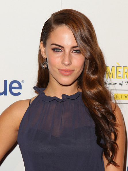 Jessica Lowndes Actress Jessica Lowndes arrives at the second annual Art ...