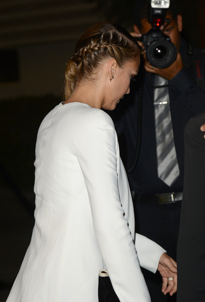 Braid of the Day: Jessica Alba's Side Pony