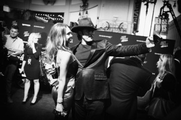 Jessica Alba Robert Rodriguez Alternative Views of the 'Sin City: A Dame to Kill For' Premiere