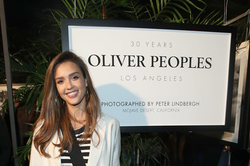 Jessica Alba Oliver Peoples 30th Anniversary Party