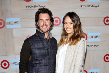 Jessica Alba TOMS For Target Launch Event