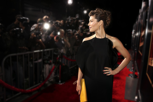 "Jessica Biel - Premiere Of Fox Searchlight Pictures' ""Hitchcock"" - Red Carpet"