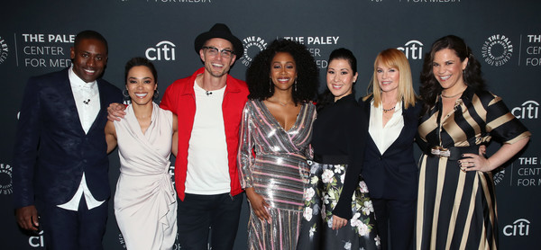 The Paley Center For Media's 2019 PaleyFest Fall TV Previews - CBS - Arrivals [paleyfest fall tv previews,event,fashion,fashion design,premiere,arrivals,ruthie ann miles,marg helgenberger,simone missick,alex brinson,jessica camacho,l-r,paley center for media,cbs]