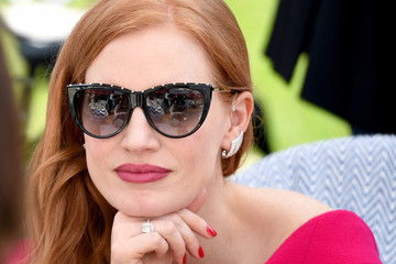Jessica Chastain Instant View - The 71st Annual Cannes Film Festival