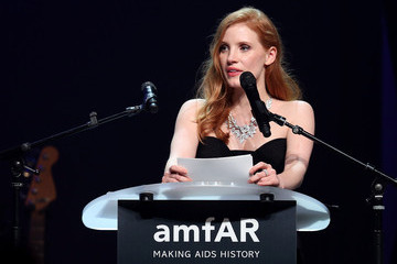 Jessica Chastain Cinema Against AIDS Gala Show