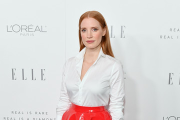 Jessica Chastain ELLE's 24th Annual Women in Hollywood Celebration