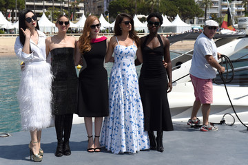 Jessica Chastain '355' Photocall - The 71st Annual Cannes Film Festival