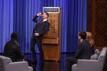 Jessica Chastain Jessica Chastain Visits 'The Tonight Show Starring Jimmy Fallon'