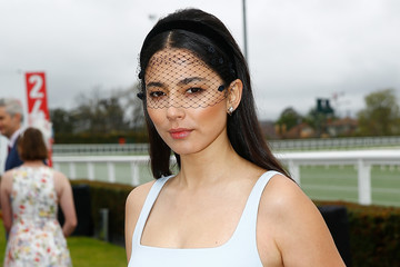 Jessica Gomes Celebrities Attend 2018 Caulfield Cup Day
