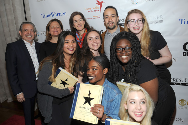 2016 Girl Be Heard Fairy Godmother Award Honoring Lin-Manuel Miranda and Luis A. Miranda, Jr.