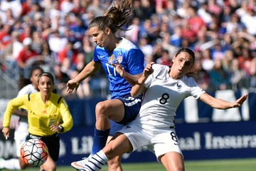 Jessica Houara DÕHommeaux 2016 SheBelieves Cup - United States v France