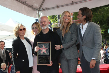 Jessica Lange Ryan Murphy Ryan Murphy Honored With Star On The Hollywood Walk Of Fame