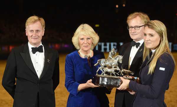 The Duchess of Cornwall Attends Olympia, the London International Horse Show