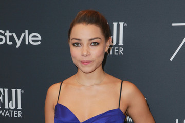 Jessica Parker Kennedy Hollywood Foreign Press Association and InStyle Celebrate the 75th Anniversary of the Golden Globe Awards - Arrivals
