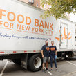 Jessica Presedo Food Bank For New York City Continues Hunger Action Month 5 Borough Pop Up Tour At Elmhurst Hospital In Queens In Partnership With NYC Health + Hospitals And Grubhub
