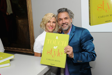 Jessica Seinfeld A Touch Of Style Book Signing With Carlos Mota At D&D Building - Assouline Showroom