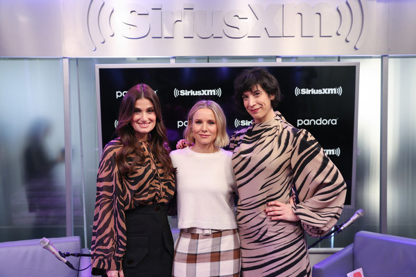 The Cast Of Frozen 2 At The SiriusXM Studios In New York City