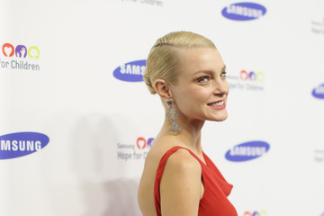 Jessica Stam Arrivals at the Samsung Hope for Children Gala