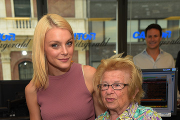 Jessica Stam Annual Charity Day Hosted By Cantor Fitzgerald And BGC - Cantor Fitzgerald Office - Inside