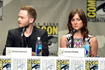 Jessica Stroup 'The Following' Panel at Comic-Con
