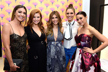 Jessica Szohr Diane Von Furstenberg Supports National Multiple Sclerosis Society with Jamie Lynn Sigler, Alison Kay, and Anne Marie Kortright