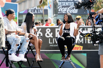 Jessica White 2016 BET Experience - 106 & Park Live sponsored by Denny's & M&M's