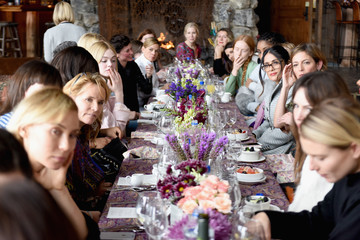 Jessica Williams Glamour's Cindi Leive and Girlgaze's Amanda de Cadenet Host Lunch Celebrating Films Powered by Women During Sundance - 2017 Park City