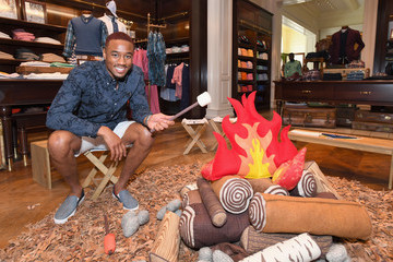 Jessie Usher Brooks Brothers Beverly Hills Hosts Summer Camp-Themed Party to Benefit St. Jude Children's Research Hospital