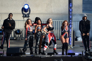 Jesy Nelson F1 Live In London Takes Over Trafalgar Square - Live Show