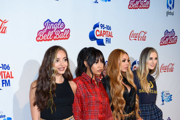 Jesy Nelson Capital FM Jingle Bell Ball Day 2 - Red Carpet Arrivals