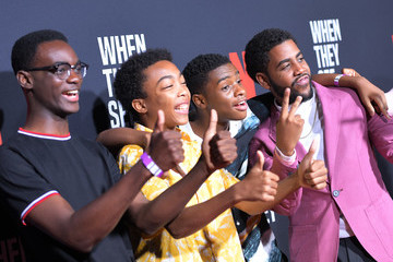 Jharrel Jerome Ethan Herisse Netflix's 'When They See Us' Screening And Reception