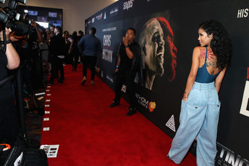 Jhene Aiko Premiere of Riveting Entertainment's 'Chris Brown: Welcome to My Life' at L.A. LIVE
