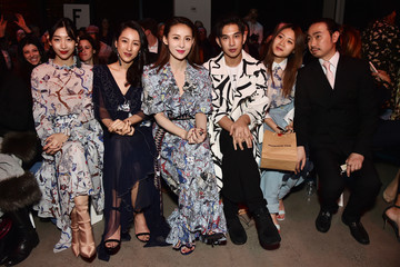Jianyu Feng Vivienne Tam - Front Row - February 2018 - New York Fashion Week: The Shows