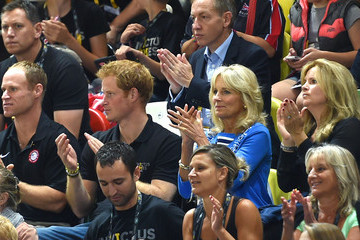 Jill Biden Invictus Games - Day Three - Wheelchair Basketball