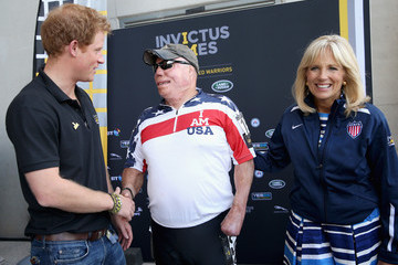 Jill Biden Behind The Scenes At The Invictus Games