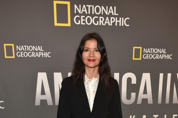 Jill Hennessy National Geographic's 'America Inside Out With Katie Couric' Premiere Screening In NYC