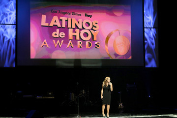 Jill-Michele Melean The Los Angeles Times and Hoy 2015 Latinos de Hoy Awards