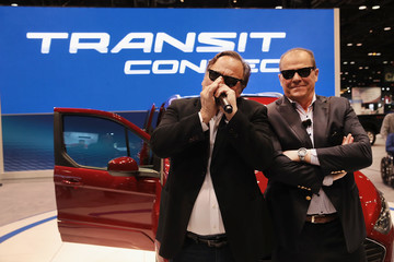 Jim Belushi The Latest Car Models Are Showcased at Chicago Auto Show