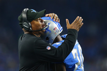 Jim Caldwell Cleveland Browns vDetroit Lions
