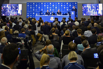 Jim Furyk Ryder Cup 2018 Year to Go Captains Official Photocall and Press Conference