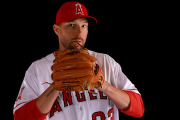 Jim Johnson Los Angeles Angels Of Anaheim Photo Day