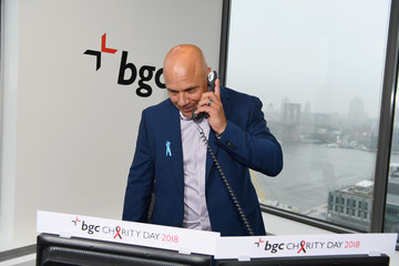 Jim Leyritz Annual Charity Day Hosted By Cantor Fitzgerald, BGC and GFI - BGC Office - Inside