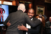 Jim Moore and Kanye West attend Book Event At Ralph Lauren Chicago on October 28, 2019 in Chicago, Illinois.