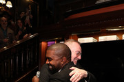 Jim Moore and Kanye West attend Jim Moore Book Event At Ralph Lauren Chicagoon October 28, 2019 in Chicago, Illinois.